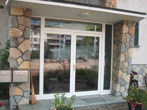 Пластиковые входные двери можно использовать не только в магазине, но и в частном доме.