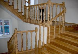 Изготовление балясин из дерева - Строим лестницу в частном