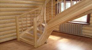 Лиственницу редко применяют для изготовления балясин для лестниц, так как дерево само по себе довольно дорогое.