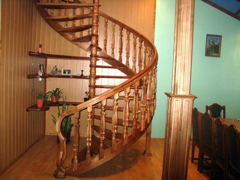 Толщина ступени деревянной лестницы - Строим лестницу в