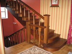 Деревянные современные лестницы