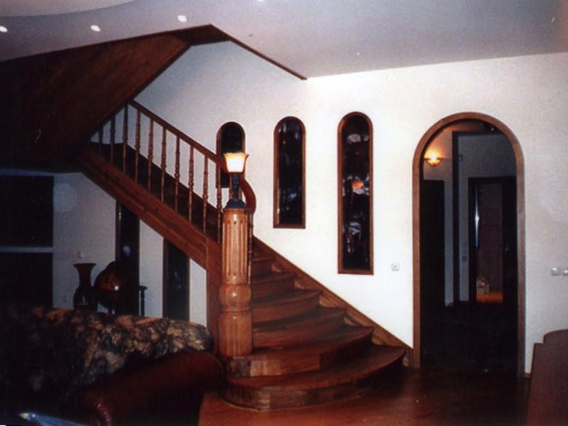 Лестница на второй этаж своими руками 45 градусов фото 290
