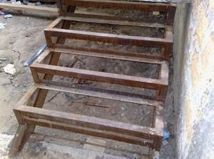 Металлическая лестница своими руками расчеты