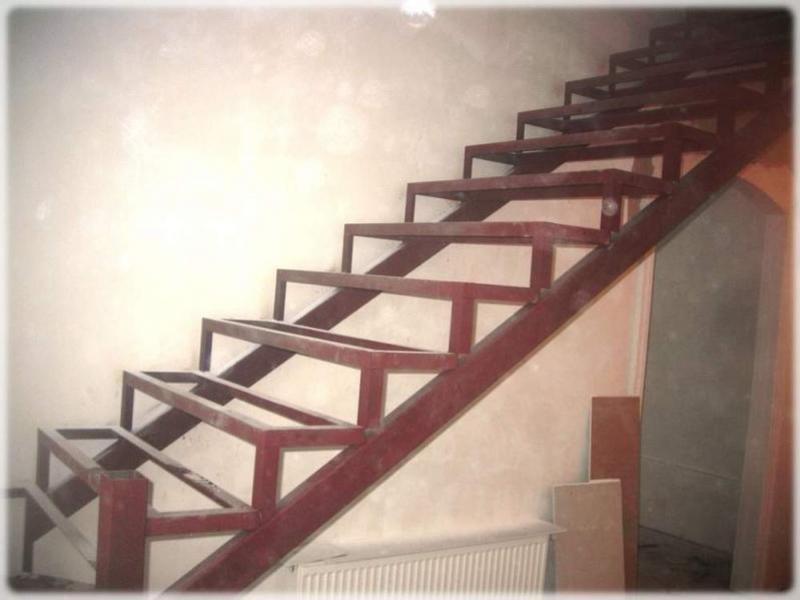 Делаем лестницу своими руками металлическая