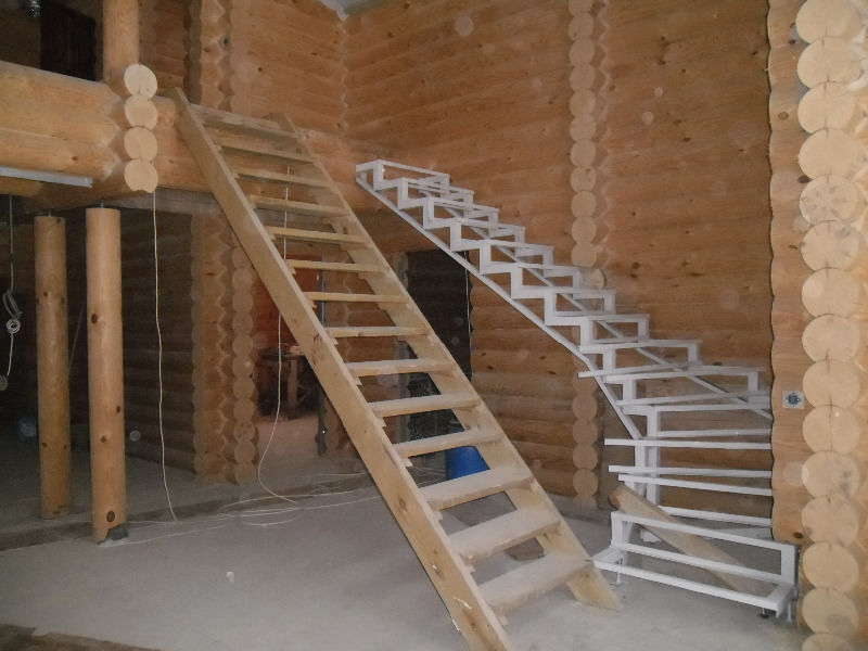 Металлические каркасы для лестниц своими руками