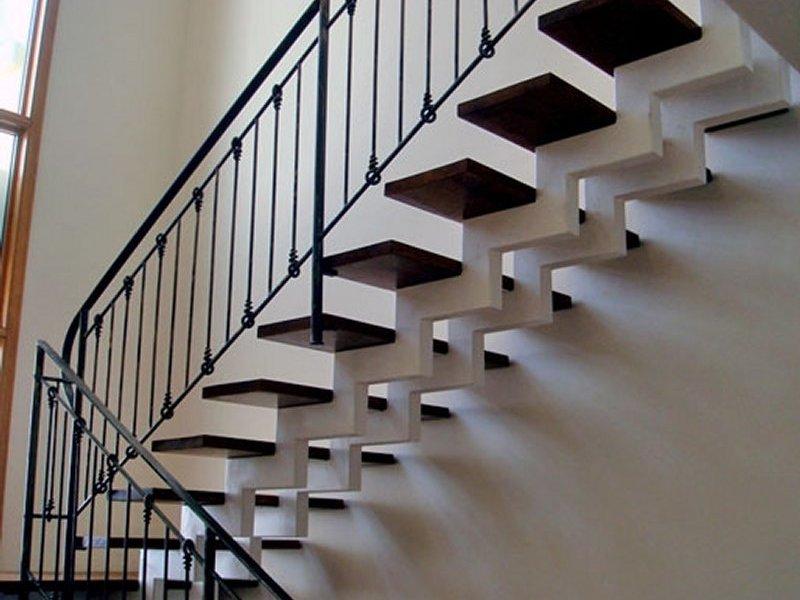 Металлический каркас лестницы своими руками фото 421