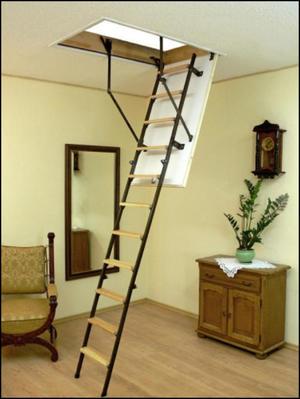 Лестницы раскладные своими руками