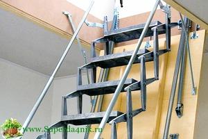 Как сделать складную лестницу фото 582