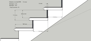 Строительство металлической лестницы