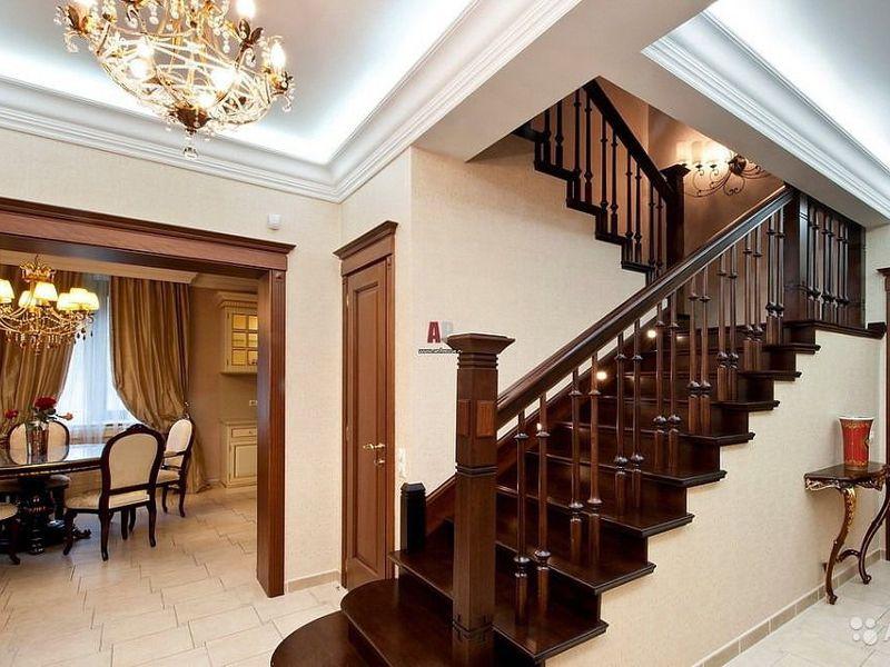 Загородной дом лестницы фото
