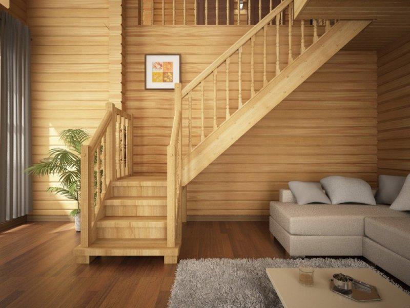 Деревянный дом внутри своими руками