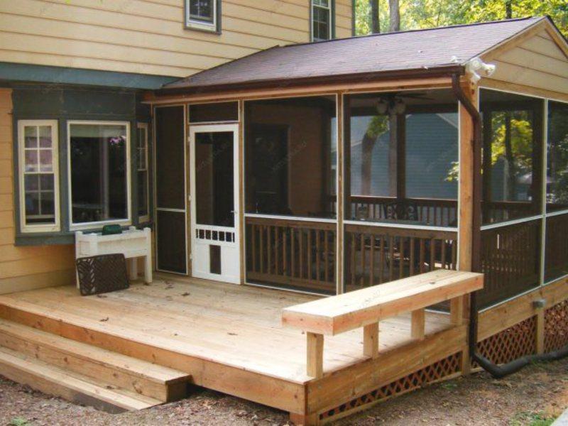 overbygg terrasse enkelt gjennomsiktig tak