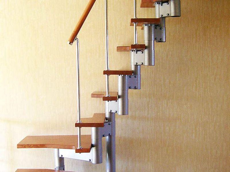 Модульные лестницы: виды, описание, различные варианты сборки и фото
