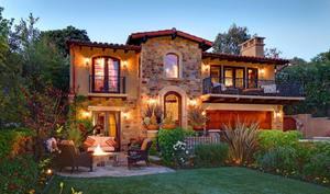 красивый интерьер загородного дома