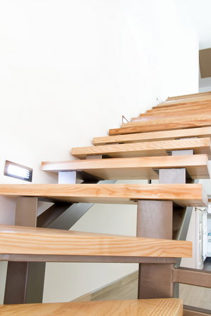 Лестница из тика