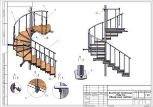 Особенности лестниц своими руками из металла
