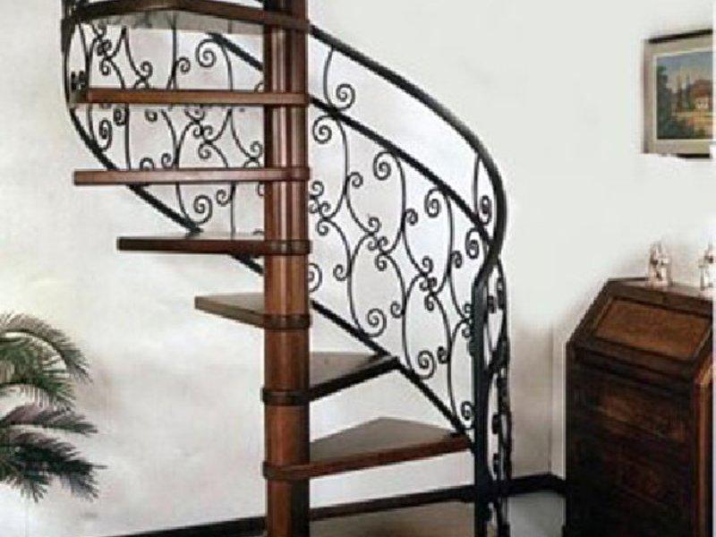Как сделать лестницу из металла 17