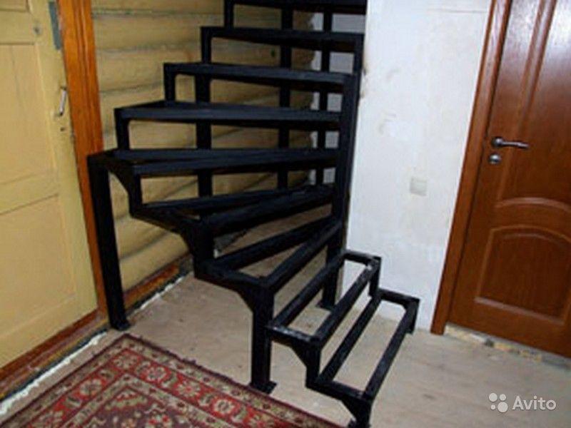 Как сделать лестницу из металла 86