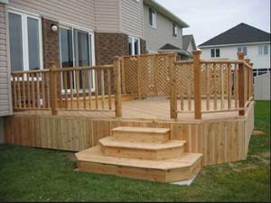 Как построить деревянное крыльцо своими руками