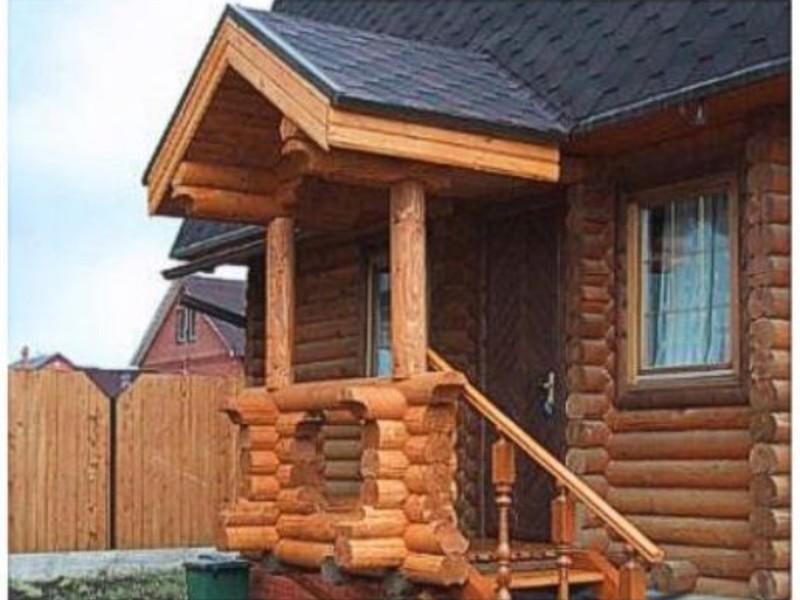 Деревянное крыльцо в частном доме своими руками фото