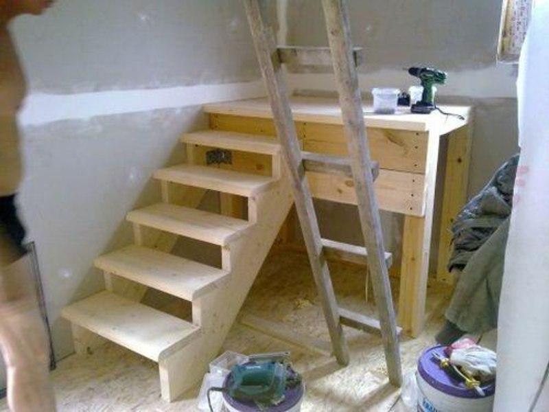 Уличную лестницу своими руками