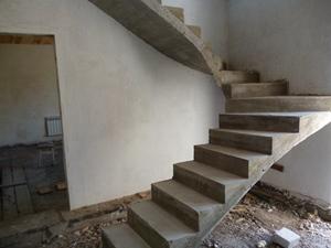Бетонные лестницы в частных домах: виды бетонных лестниц, их изготовление, фото